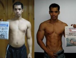 Арнел Рикафранка (Arnel Ricafranca)— трансформация тела в домашних условиях