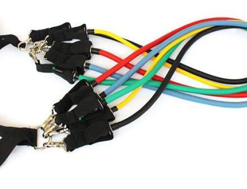 Резиновые эспандеры (амортизаторы, resistance bands), жгуты для фитнеса