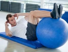 Фитбол— мяч для фитнеса. Он же Stability Ball, он же Swiss Ball