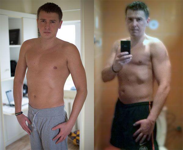 """До и после """"Body Beast"""""""