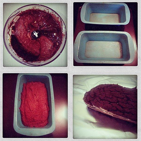 Шоколадно-нутовые кексы рецепт
