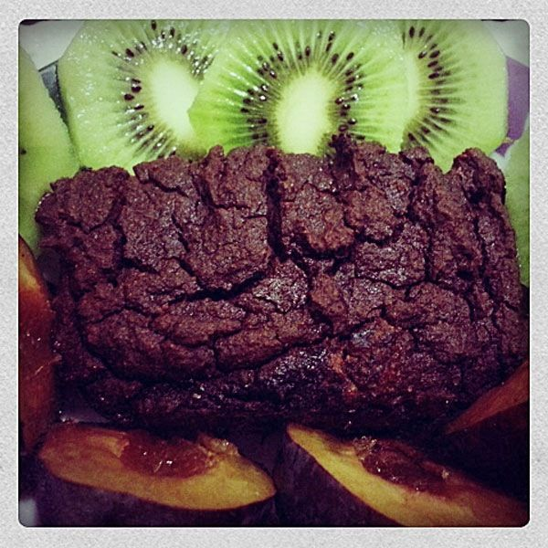 Шоколадные кексы для спортивного питания