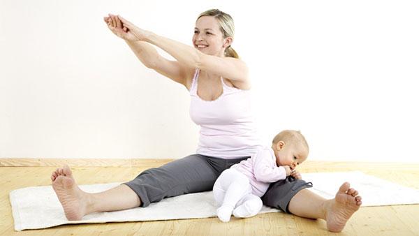 Фитнес-мама
