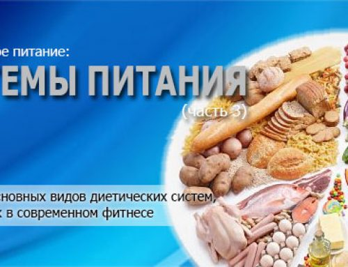 Рациональное питание. Часть 3. Системы питания (диеты)
