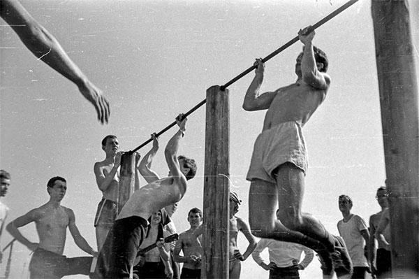 подтягивания в СССР
